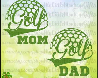 Golf SVG ~ Golf Mom svg ~ Golf Dad svg ~ Golf Mom Shirt ~ Golf Decal ~ Golf Ball SVG ~ Commercial Use SVG ~ Cut File ~ Clipart ~ dxf-eps-png
