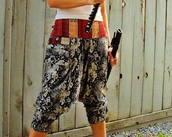 Samurai Waves Ninja Pants (Unisex) NK9J
