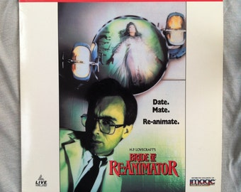 Bride of Re-Animator Laserdisc