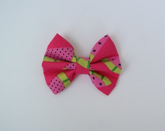 Juicy watermelon hair bow, clip or headband