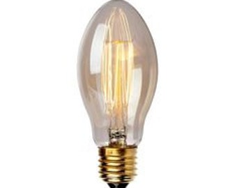 Edison bulb/carbon wire/glow lamp new!! Vintage industrial