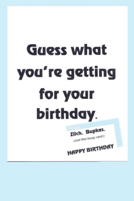 Birthday Card Jewish Humor Yiddish Humor Funny Cute For Anyone