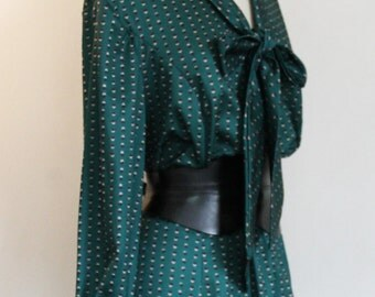 70s Dark Emerald dress