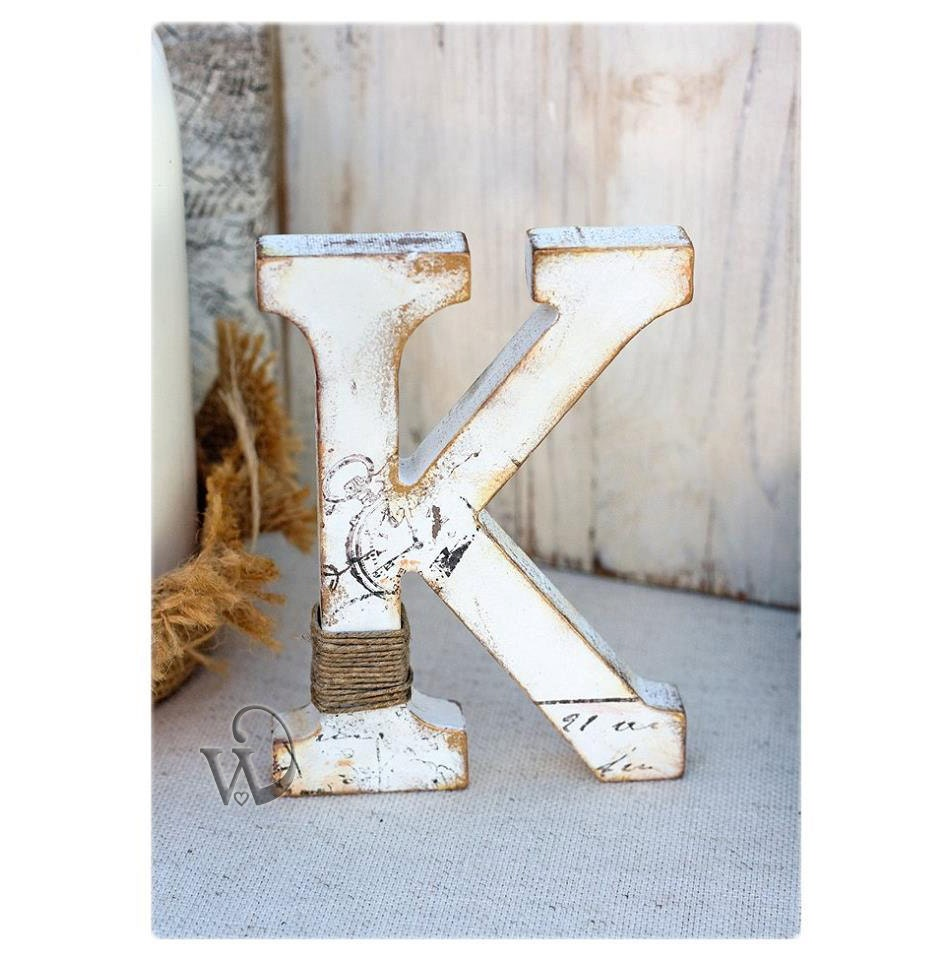 standing letter decor rustic wedding letter stand alone letter decorative nursery 24968 | il fullxfull.800355774 4t38