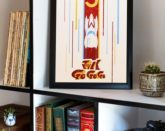 Speed Racer Mach 5 Graphic Poster