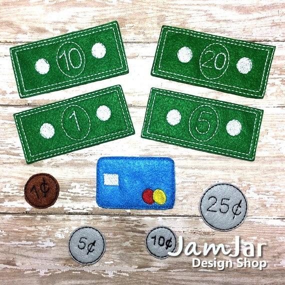 Fake Toy Money : Items similar to play money felt fake