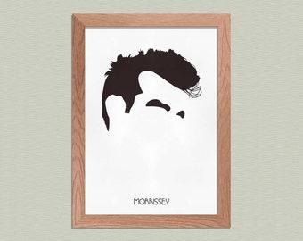 Morrissey - The Smiths Poster - Minimalist Art Print - Music Art