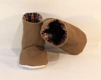 Baby Boots with gripper soles 3 to 9 months