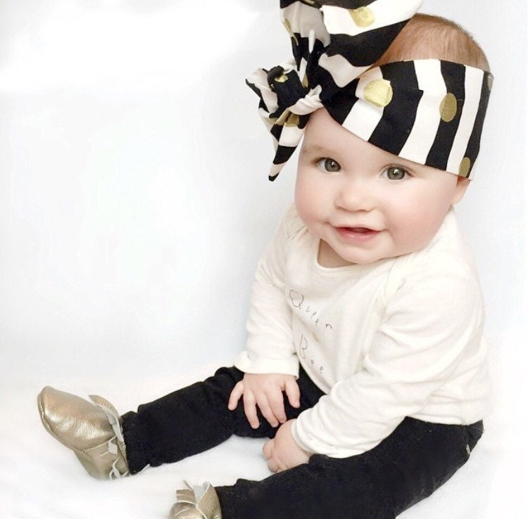 Baby Head Wrap Head Wrap Baby Turban Big Bow Oversized