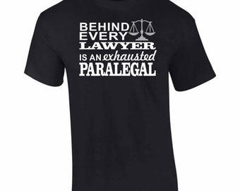 On Sale - Exhausted Paralegal T-Shirt