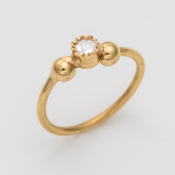 Diamond nose ring. solid gold nose ring. nose piercing. nose rings. nose jewelry. gold nose ring. nose ring. gold piercing.