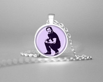 BRUCE SPRINGSTEEN Necklace E Street Band The Boss Jewelry Springsteen Pendant Springsteen Jewelry Springsteen Art Turquoise