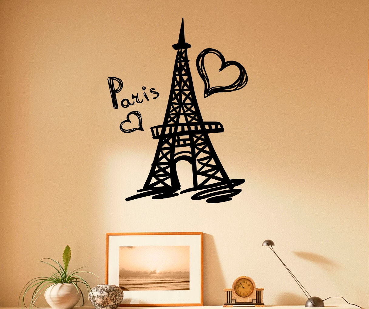 stickers paris i love paris classic round sticker zazzle party in paris. Black Bedroom Furniture Sets. Home Design Ideas