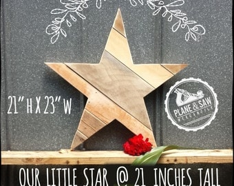 Rustic Wood Star, Reclaimed Wood, Rustic Star, Salvaged Wood, Country Home Decor, Holiday Star, Christmas Decor, Holiday Decor, Wreath