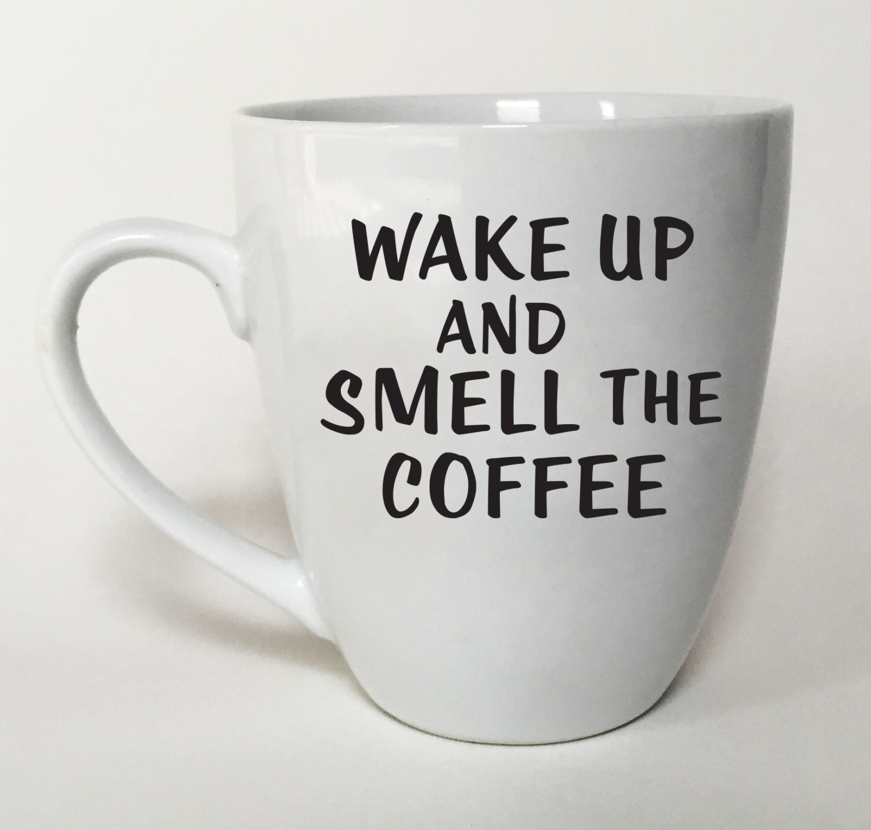 Funny mug fun gift idea office coffee mug by jessicafergusonart - Funny office coffee mugs ...