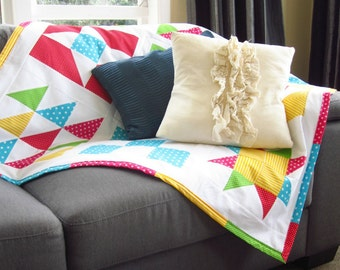 Quilted Blanket Tutorial. Beginner Level E-Course
