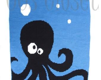 Big Brother Octopus Blanket / Afghan