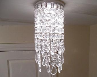 Recessed chandelier | Etsy