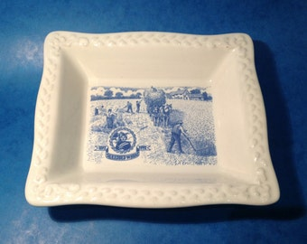 1992 Commemorative Dish Celebrating 100 Years of Shredded Wheat 1892 - 1992