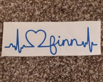 Finn Decal #1 {100% of proceeds to support the Blumenthal Family}