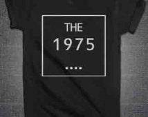 The 1975 Tshirt shirt Unisex All sizes Cotton t-shirt tumblr shirt 1975 band music concert shirt PINTEREST INSTAGRA TUMBLR