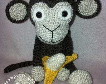 Amigurumi monkey Kiki, toy
