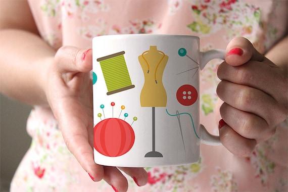 Coffee Mug Sewing Coffee Mug - Sewing Notions