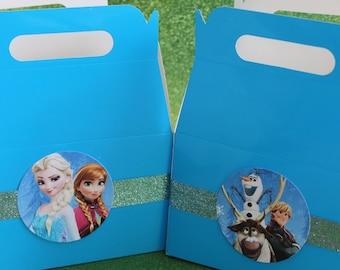 Frozen Favor Boxes / Choose-A-Theme Favor Boxes - Set of 12