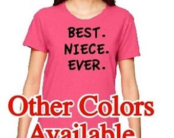Best Niece Ever T-shirt 420GA Cook T-shirt Custom T-shirt