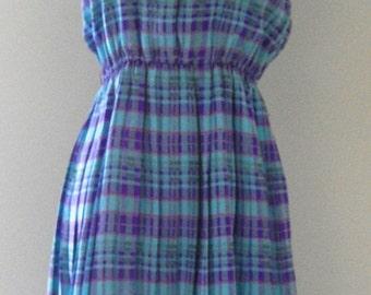 Vintage 1960's Mod Day Dress