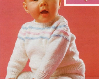 Baby Twinset Knitting Pattern