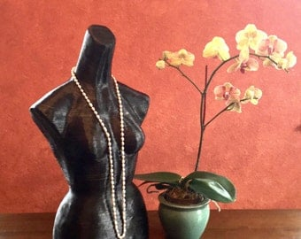 Paper Mâché mannequin for accessories, apparel and jewelry display! Eco-friendly!