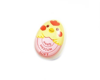 Egg Timer Tool / Chicken Hard Boiled Egg Timer / Manual Temperature Color Changing Egg Timer / Perfect Egg Kitchen Cooking Accessory Tool