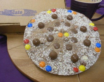 Fully Loaded Chocolate Pizza