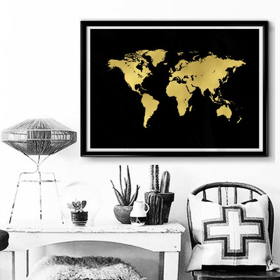 or carte du monde affiche scandinave carte de par smukprintables. Black Bedroom Furniture Sets. Home Design Ideas