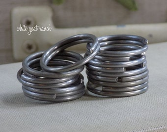Key Ring Steel Lot of 10 Key Chain Supplies