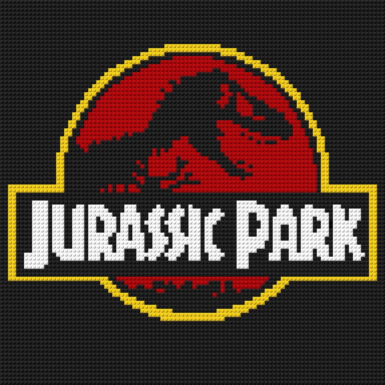 make your own jurassic park logo