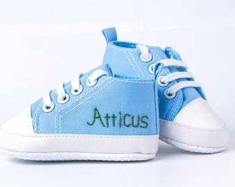 Personalized Baby Shoe, Name Embroidery ADD-ON, First Birthday, Custom Design, Baby shower gift, Converse, Embroidered Baby Shoe, Infant