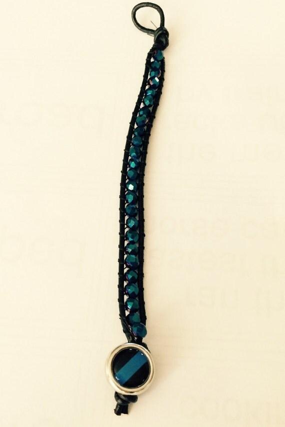 thin blue line bracelet 2. Black Bedroom Furniture Sets. Home Design Ideas