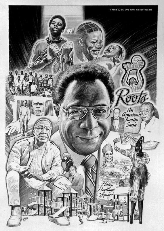 Roots The Saga Of An American Family: Alex Haley Author Of ROOTS An American Family Saga By Dwja