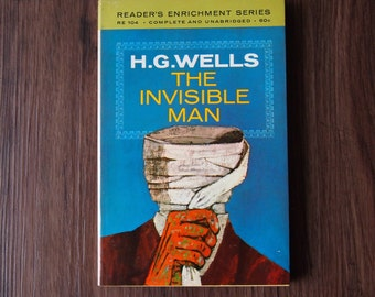 The Invisible Man by H.G. Wells (+free shipping)