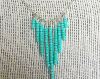 The EVA necklace - turquoise
