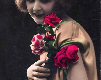 Antique Beauty Post Card