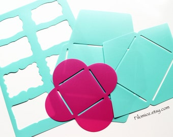 Hema Envelope and Label Templates