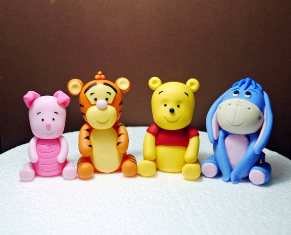 Baby Winnie Pooh Cake Toppers