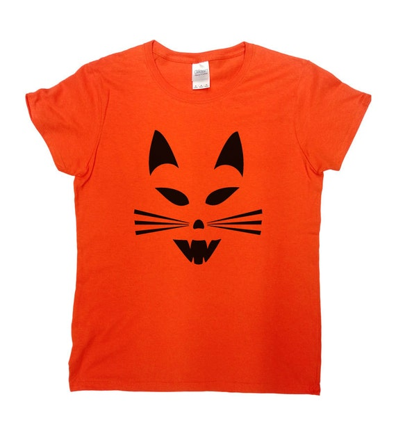 halloween t shirts scary cat shirt tshirt costume scary 30526