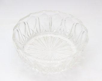 Round dish glass