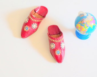 Vintage Child's Slippers