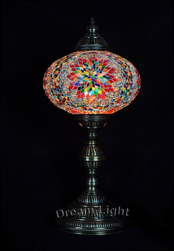 big floor lamp hanging turkish mosaic lamp handmade moroccan lantern. Black Bedroom Furniture Sets. Home Design Ideas