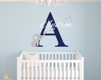 Elephant Wall Decal Etsy - Elephant wall decals